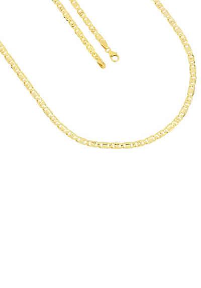 Edelstahl Collier Halskette Kette Silber Gold Poliert Matt Armband