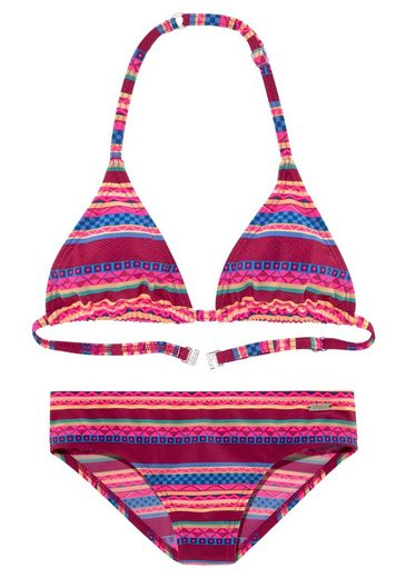 Buffalo Triangel-Bikini mit Ethno-Druck