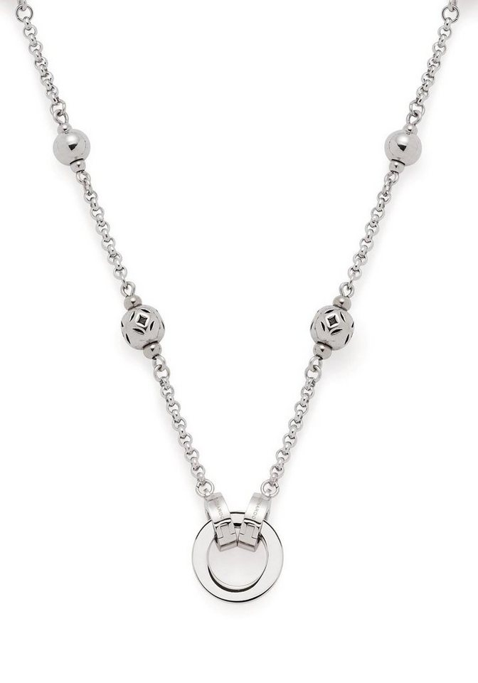 LEONARDO Charm-Kette »45 Sibilla Darlin´s, 017083« mit Glassteinen | Schmuck > Armbänder > Armketten | Rot | LEONARDO