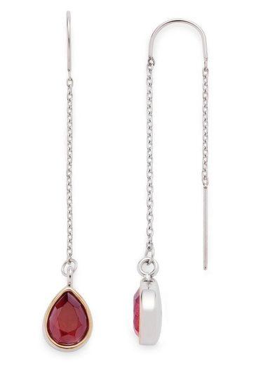 LEONARDO Paar Ohrhaken »Adriana, 016990«, mit Glassteinen
