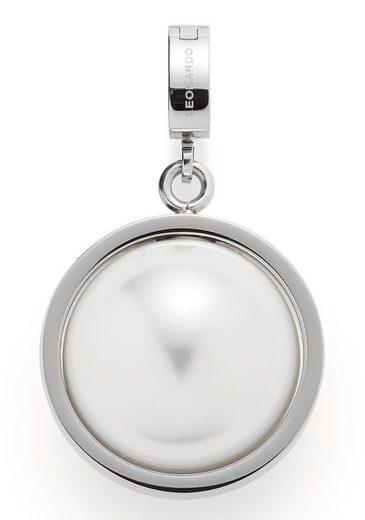 LEONARDO Charm-Einhänger »Savina Darlin's, 017036«, mit imit. Perle