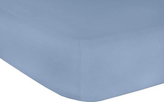 Spannbettlaken »Elastan Classic«, Mr. Sandman, geeignet für Wasserbetten