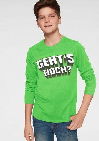KIDSWORLD Marškinėliai ilgomis rankovėmis »Geht´...