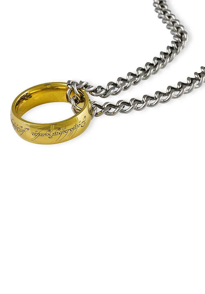 Der Herr der Ringe Kette mit Anhänger »Der Eine Ring an Kette, 10004025«, Made in Germany