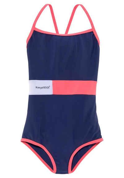 KangaROOS Badeanzug 1 Stück, im Colorblocking-Look