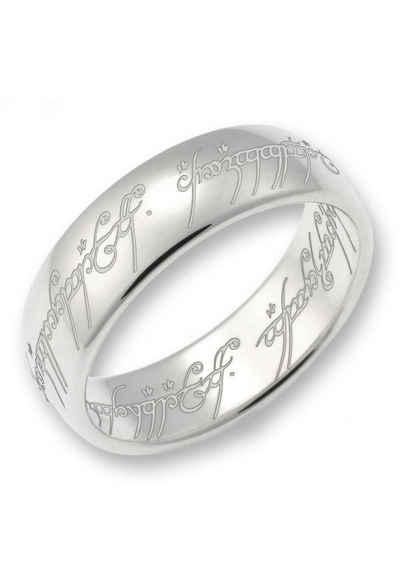 Der Herr der Ringe Silberring »Der Eine Ring - Silber, 10004046«, Made in Germany