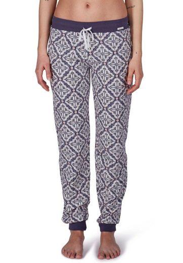 Skiny Pyjamahose mit trendigem Print »Purpose Sleep«