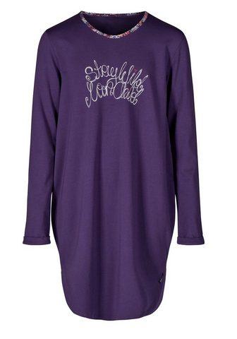 Рубашка ночная в модный Oversized-Schn...