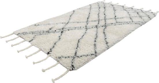 Wollteppich »Nadra 300«, calo-deluxe, rechteckig, Höhe 55 mm, Neuseelandwolle
