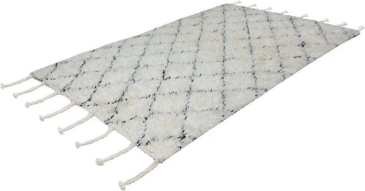 Wollteppich »Nadra 400«, calo-deluxe, rechteckig, Höhe 55 mm, Neuseelandwolle
