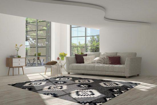 Teppich »Kibo 1005«  calo-deluxe  rechteckig  Höhe 10 mm  Flachgewebe mit Struktur
