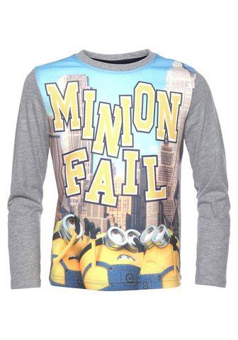 MINIONS Marškinėliai ilgomis rankovėmis
