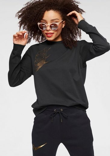 Nike Sportswear Langarmshirt »W Nsw Top Longsleeves Shine«