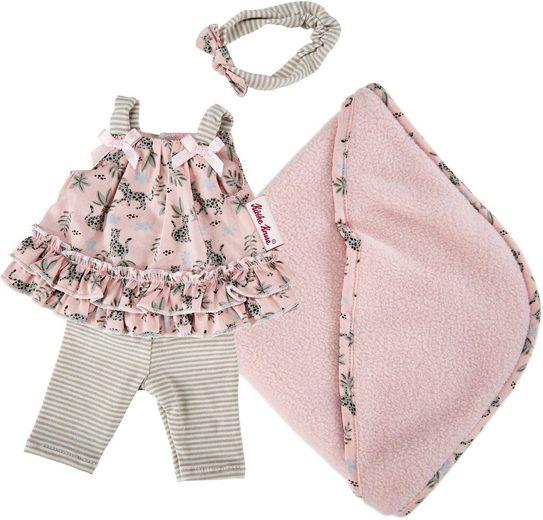Käthe Kruse Puppenkleidung »Leopardenmotiv Outfit« (4-tlg)