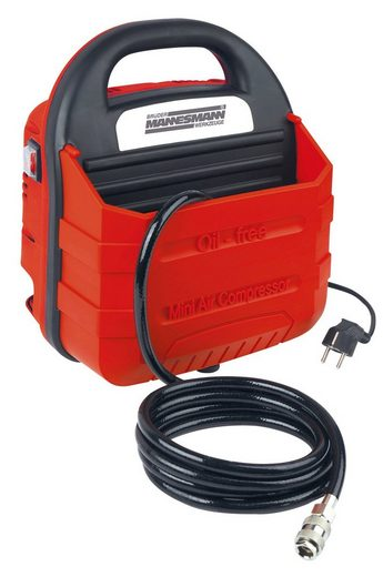 Brueder Mannesmann Werkzeuge Multi-Kompakt Kompressor »M01795« mit 11-tlg. Zubehör