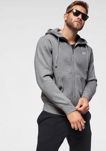 Nike Sportswear Kapuzensweatjacke »M NSW CLUB HOODIE FZ BB«