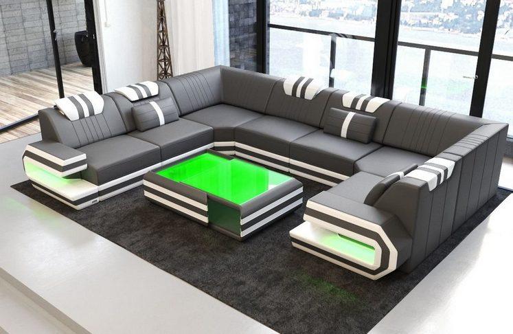 Sofa Dreams Wohnlandschaft »Ragusa«, U Form