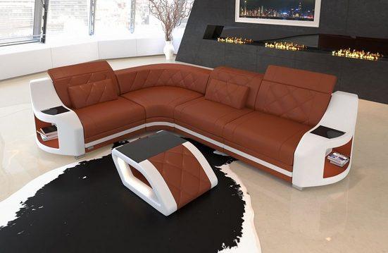 Sofa Dreams Ecksofa »Genua«, L Form, Modernes Design ...