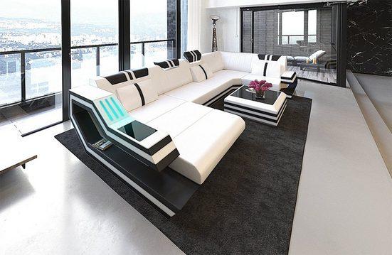 Sofa Dreams Wohnlandschaft »Ravenna«, U Form