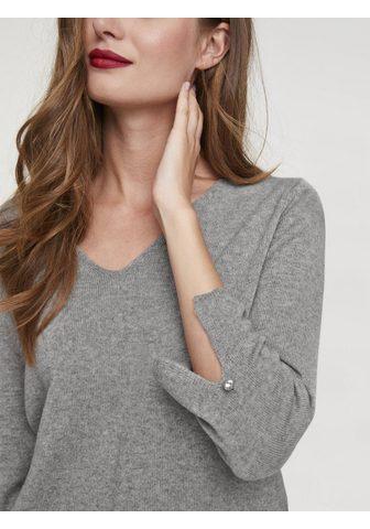 HEINE CASUAL пуловер с с V-образным вырезом