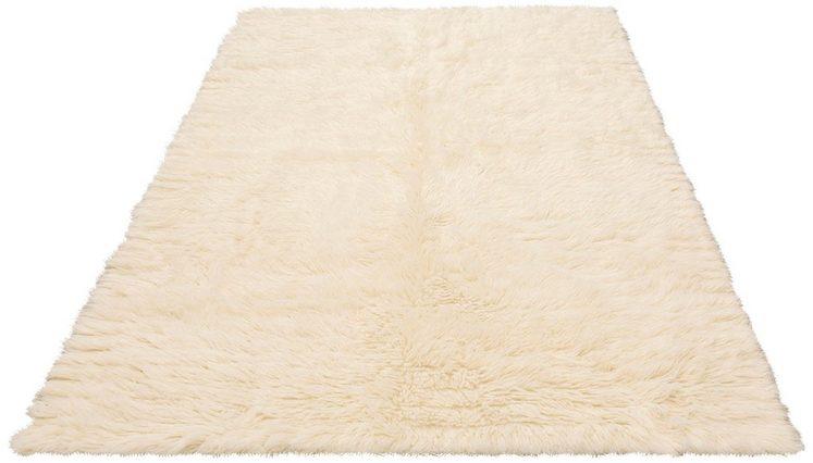 Wollteppich »Elif«, Home affaire, rechteckig, Höhe 40 mm, echter Flokatti