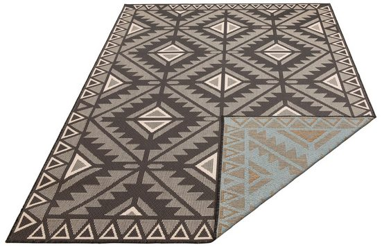 Teppich »Timea«, my home, rechteckig, Höhe 7 mm, In-und Outdoor geeignet, Wendeteppich