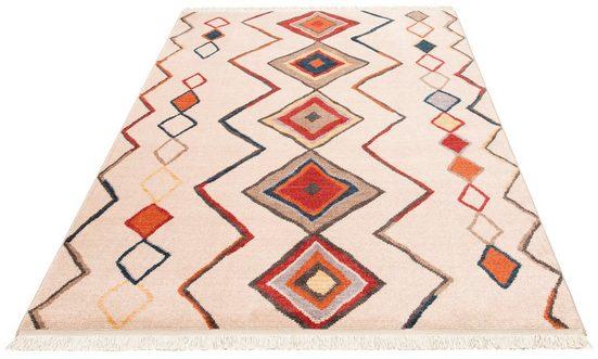 Teppich »Kilim 80099«, merinos, rechteckig, Höhe 10 mm