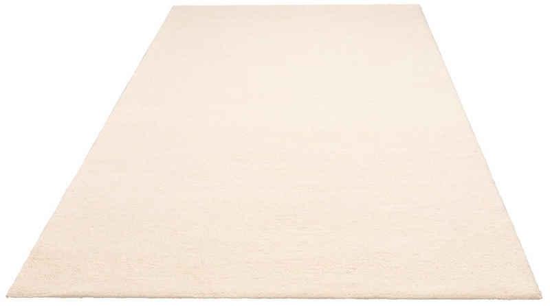 Wollteppich »Malia«, andas, rechteckig, Höhe 24 mm, reine Wolle, echter Berber, handgeknüpft, Wohnzimmer