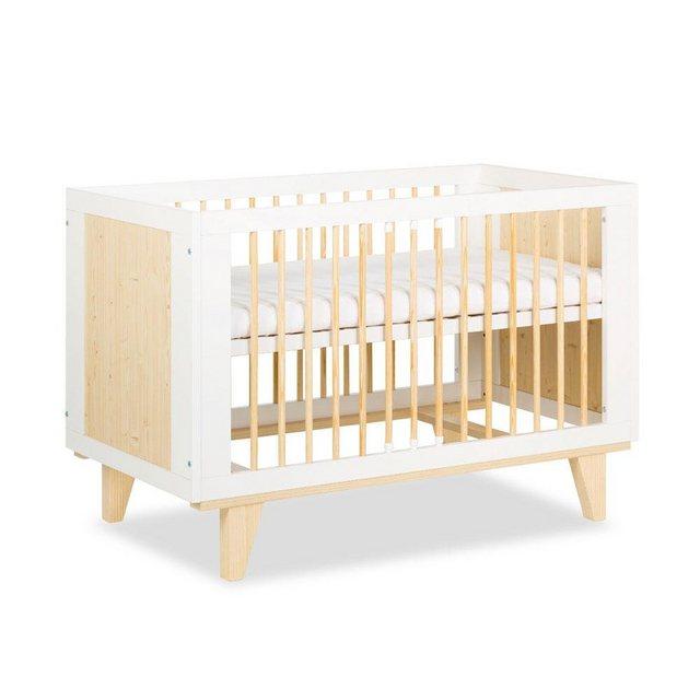 Babyzimmer - Ticaa Babyzimmer Komplettset »Lydia«, Bett Wickelkommode Schrank  - Onlineshop OTTO