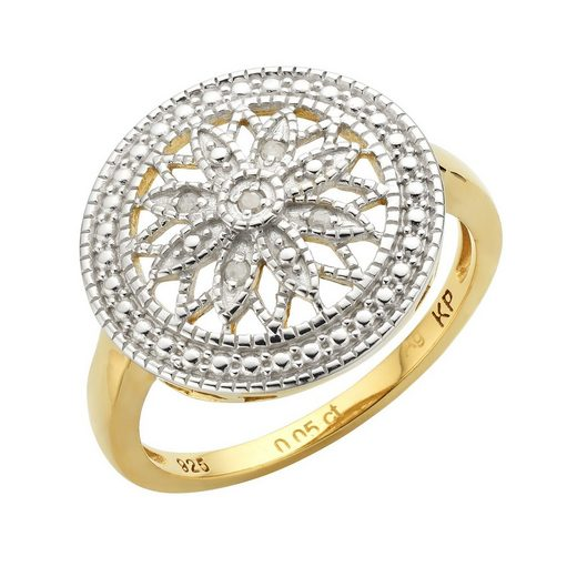Diamonds by Ellen K. Ring »925/- Sterling Silber Diamant 0,05ct.«