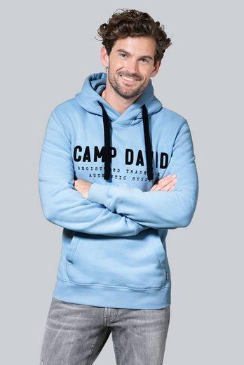 CAMP DAVID Kapuzensweatshirt mit Kapuze