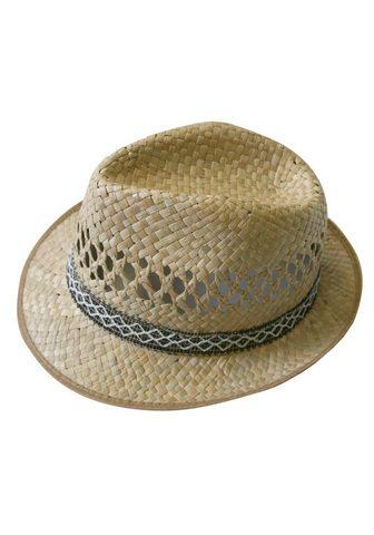 J.JAYZ šiaudinė skrybėlė