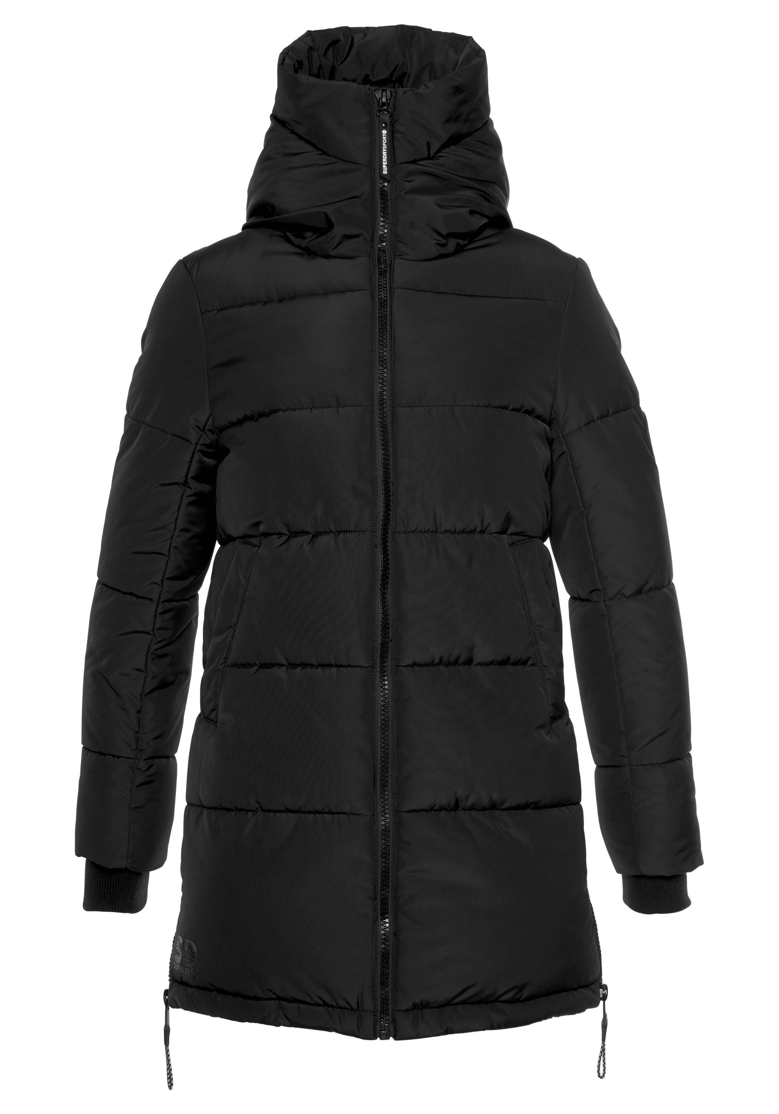 Superdry Куртка »ION PADDED JACKET« mit extra hohem Воротник стойка