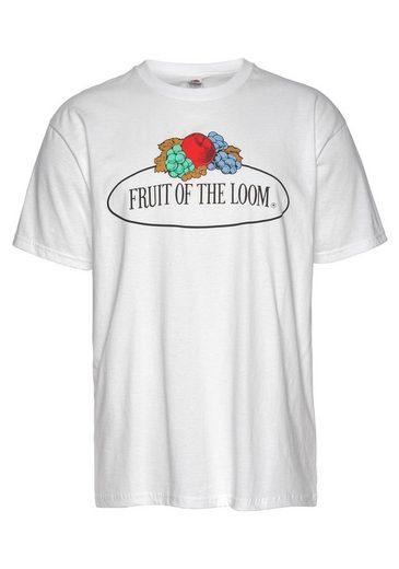 fruit of the loom t shirt mit gro em logo print otto. Black Bedroom Furniture Sets. Home Design Ideas