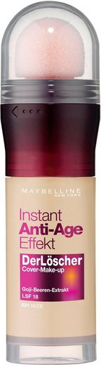 MAYBELLINE NEW YORK Foundation »Instant Anti-Age Der Löscher Cover Make up«