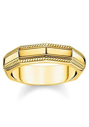 THOMAS SABO Fingerring »Eckig Gold, TR2276-413-39-48, 50, 52, 54, 56, 58, 60, 62, 64, 66, 68«