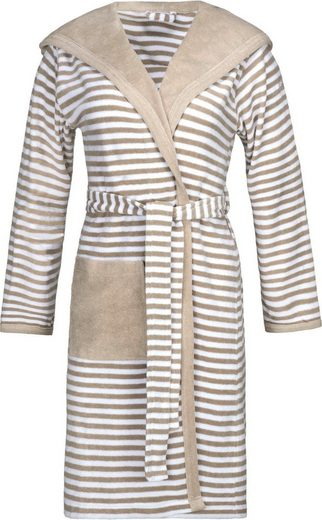 Damenbademantel »Striped Hoody«, Esprit