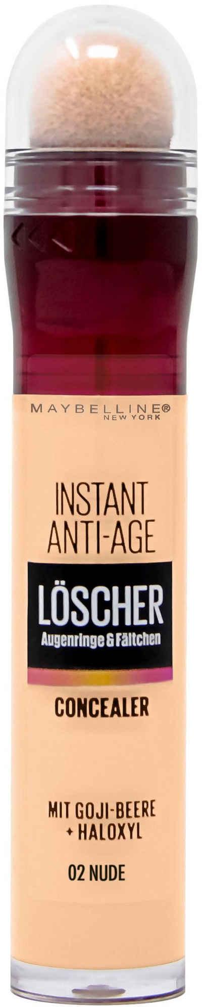 MAYBELLINE NEW YORK Concealer »Instant Anti-Age Effekt«, für die Augenpartie
