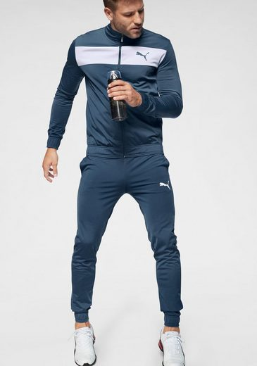PUMA Trainingsanzug »Techstripe Tricot Suit cl«