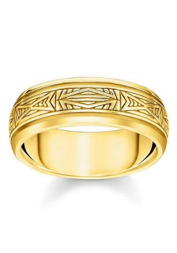 THOMAS SABO Fingerring »Ornamente Gold, TR2277-413-39-52, 54, 56, 58, 60, 62, 64, 66, 68«