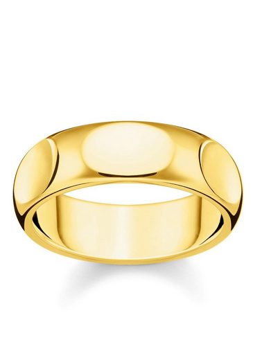 THOMAS SABO Fingerring »Puristisches Gold, TR2281-413-39-52, 54, 56, 58, 60«