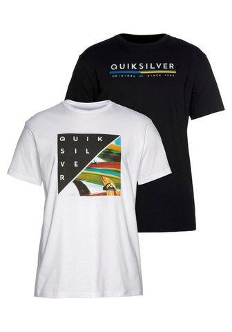 QUIKSILVER Marškinėliai »RETRO STAX FLAXTON PACK«...