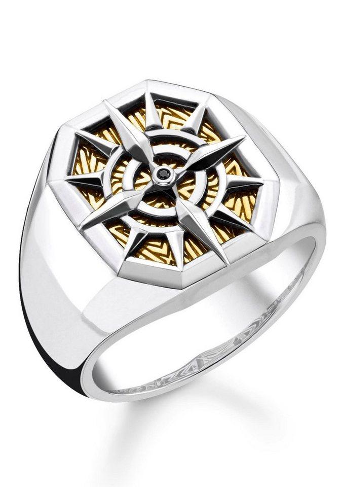Thomas sabo fingerring kompass gold tr2278 849 7 52 54 for Mobilia utrechtsestraat 62 64