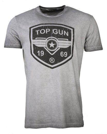 TOP GUN T-Shirt »Powerful« sportlicher Schnitt