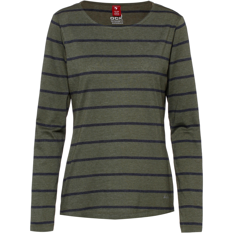 OCK Langarmshirt blau, grau, grün | 08907208030957