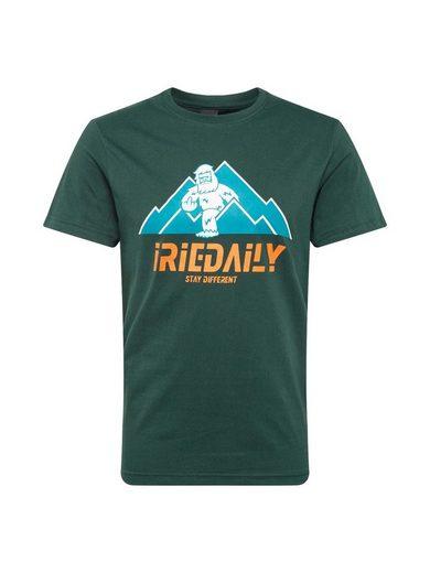 iriedaily Rundhalsshirt »Stay Yeti Tee«