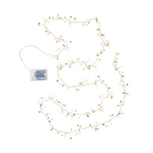 BUTLERS JINGLE LIGHTS »Lichterkette Perlen 40 Lichter«