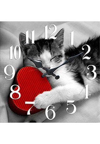 HOME AFFAIRE Sieninis laikrodis »Katze«