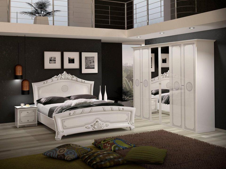 Schlafzimmer Set Greta 4 Tlg Hochglanz Fronten Online Kaufen Otto