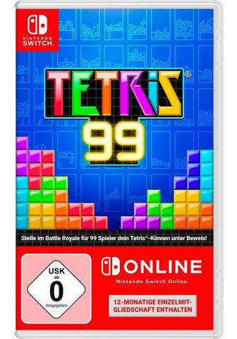 NINTENDO SWITCH Tetris 99 Nintendo Šakotuvas